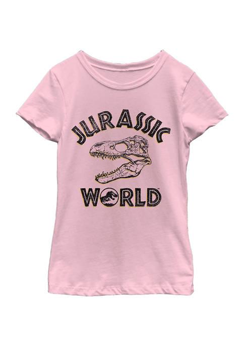 Jurassic World Girls 4-6x Head Hunter Graphic T-Shirt