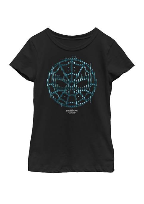 Spider-Man Far From Home Tech Symbol Short Sleeve T-Shirt