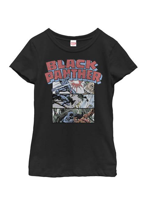 Black Panther™ Girls 7-16 Black Panther Retro Comic