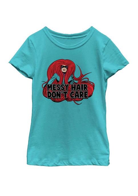 Marvel™ Girls 7-16 Medusa Messy Hair Dont Care