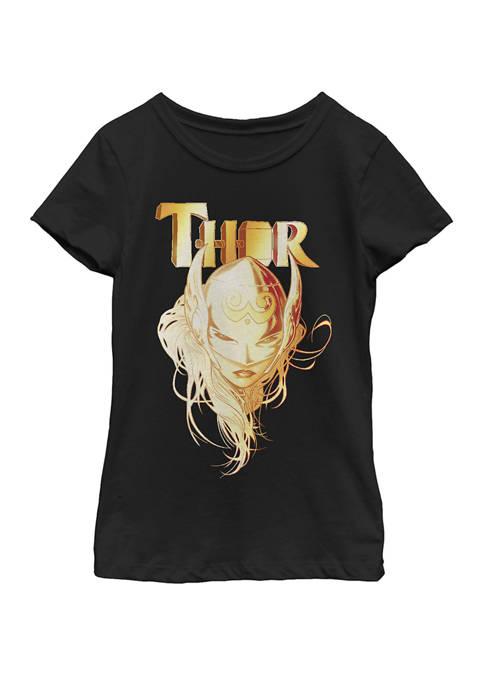 Marvel™ Girls 7-16 Jane Foster Thor Short Sleeve