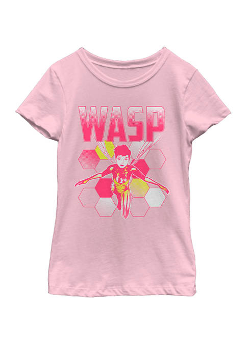 Marvel™ Girls 7-16 The Wasp Portrait Short Sleeve