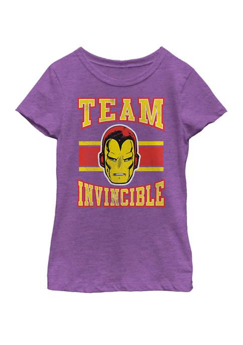 Marvel™ Girls 7-16 Classic Team Invincible Iron-Man Short