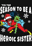 Girls 4-6x Heroic Sister Top