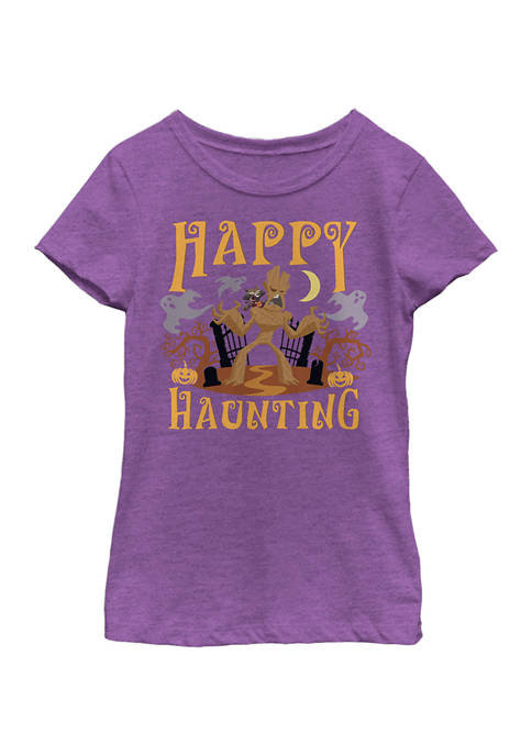 Marvel™ Girls 4-6x Happy Haunting Groot T-Shirt