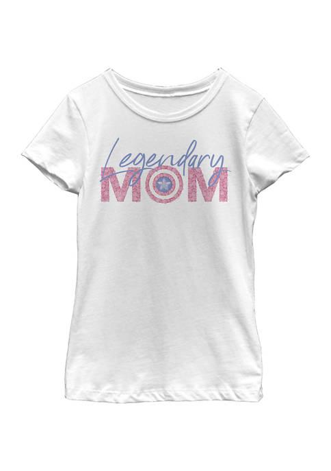 Marvel™ Girls 4-6x Seasonal Legendary Mom Flowers Graphic