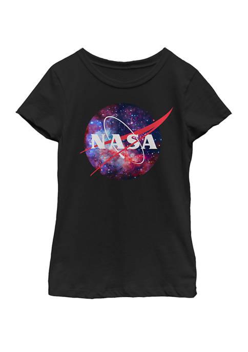 NASA Girls 7-16 Purple Pink Mix Galaxy Style