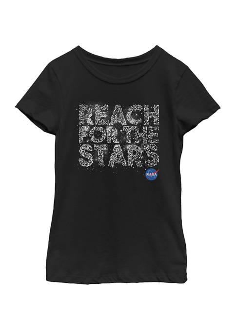 NASA Girls 7-16 Reach For The Stars Bright