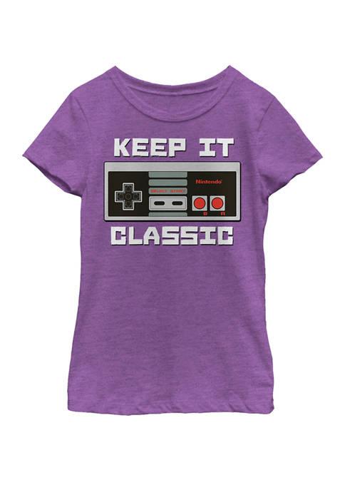Nintendo Girls 7-16 NES Controller Keep It Classic
