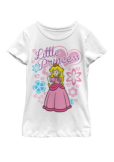 Nintendo Girls 7-16 Super Mario Peach Little Princess