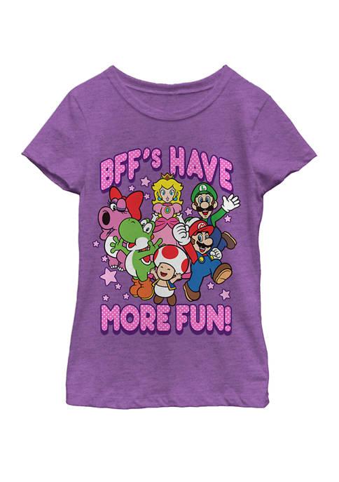 Nintendo Girls 7-16 Super Mario BFFs Have More