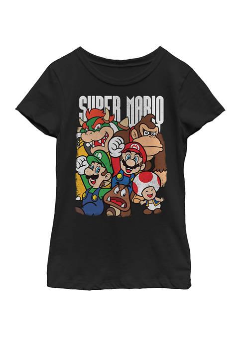 Nintendo Girls 7-16 Super Mario Character Compilation Short