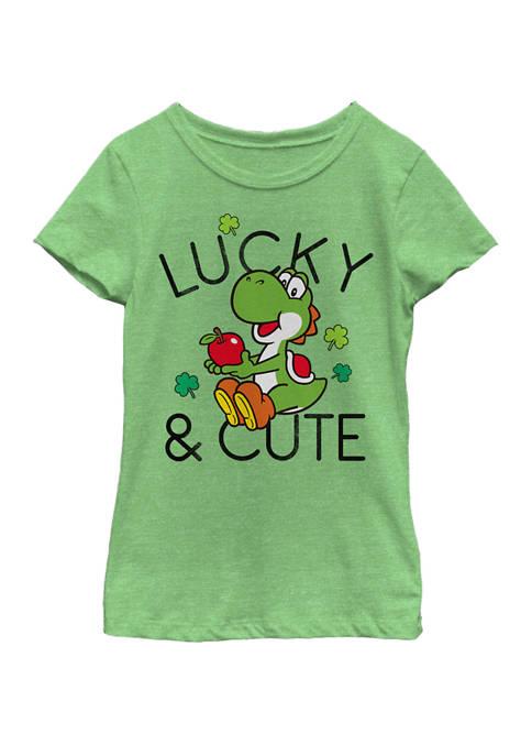 Nintendo Girls 7-16 Super Mario Yoshi Lucky &