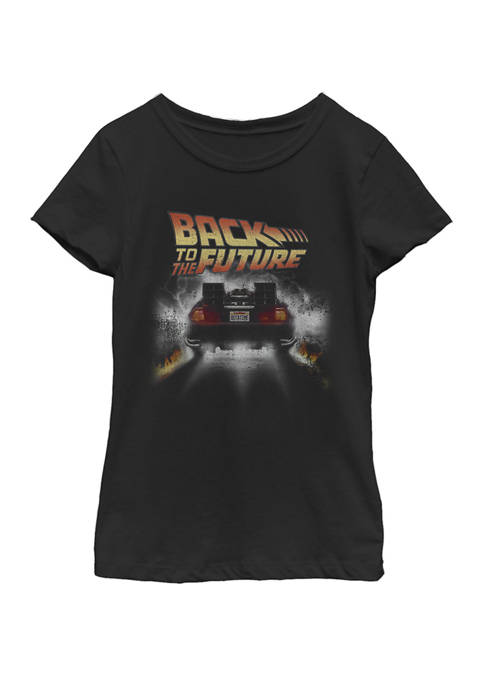 Back To The Future Girls 7-16 Vintage Delorean