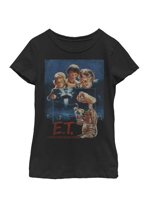 E.T. the Extra-Terrestrial Girls 7-16 Distressed Vintage