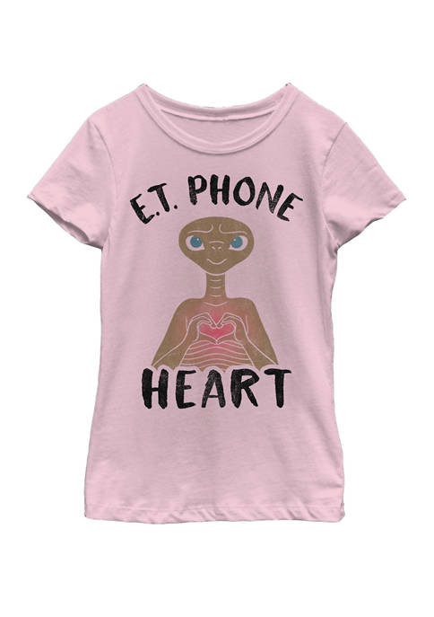 E.T. the Extra-Terrestrial Girls 7-16 Phone Home Heart