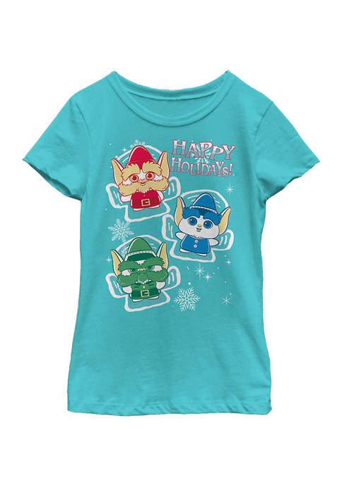 Christmas Chronicles Girls 4-6x Snow Angels Top