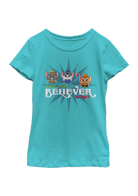Christmas Chronicles Girls 4-6x Be a Believer Top