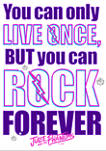 Girls 4-6x Rock Forever Graphic T-Shirt
