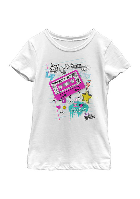 Girls 4-6x School Page Graphic T-Shirt