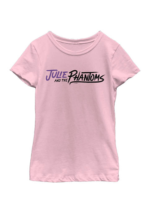 Girls 4-6x Horizontal Logo Graphic T-Shirt