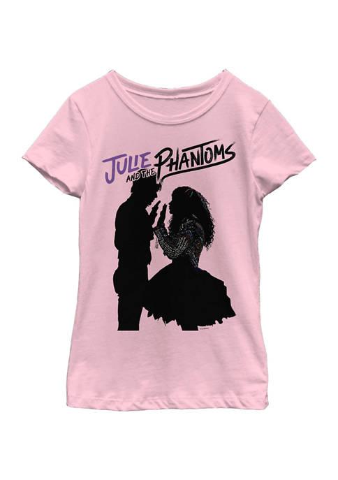 Girls 4-6x Silhouette Phantoms Graphic T-Shirt