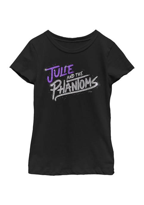 Julie and the Phantoms Girls 4-6x Bling Logo