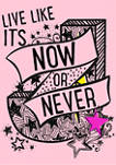 Girls 4-6x Now or Never Graphic T-Shirt