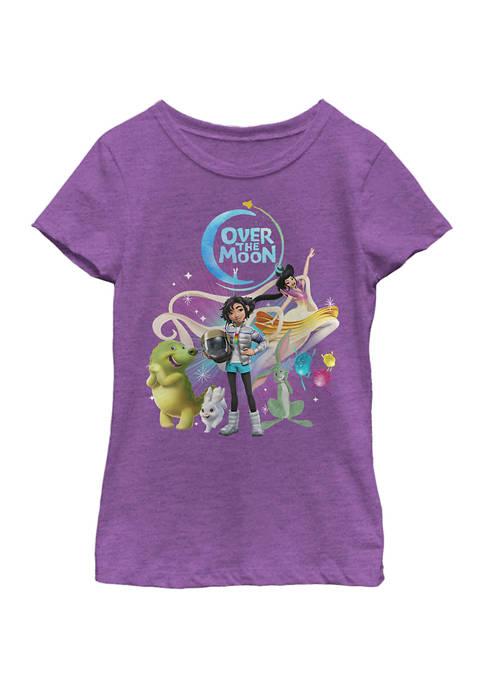 Girls 4-6x Moon Group Graphic T-Shirt