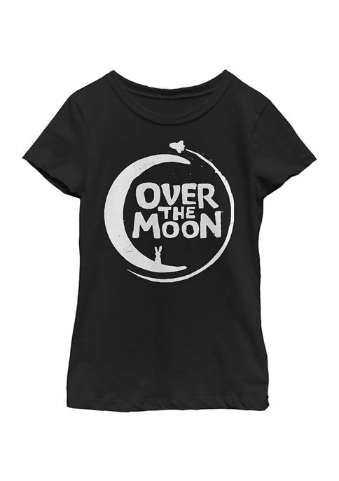 Girls 4-6x Logo Solid Graphic T-Shirt