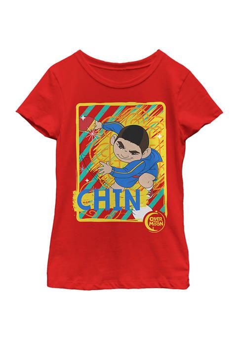 Girls 4-6x Chin Box Graphic T-Shirt