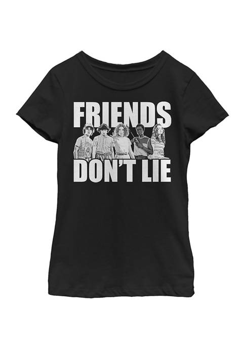 Stranger Things Girls 4-6x Cast Friends Dont Lie