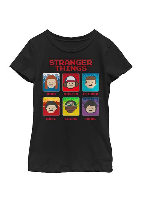Girls 4-6x 8 Bit Stranger Top