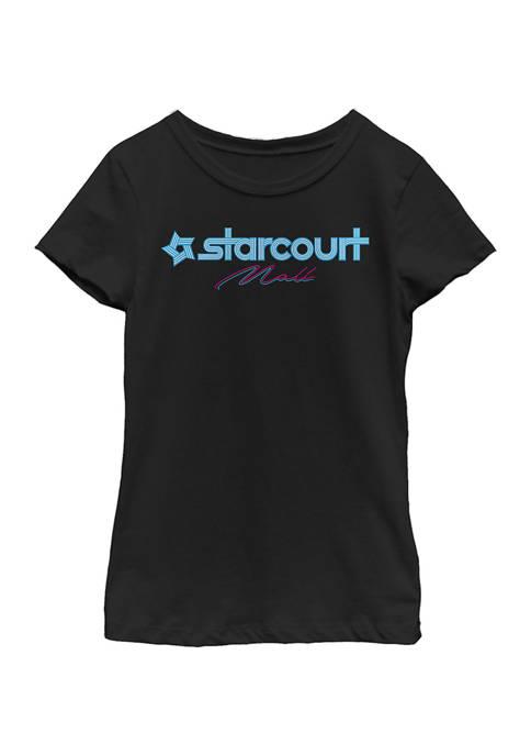 Stranger Things Girls 4-6x Starcourt Logo Top