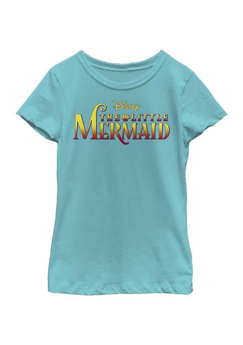 Girls 4-6x Little Mermaid Logo Graphic T-Shirt