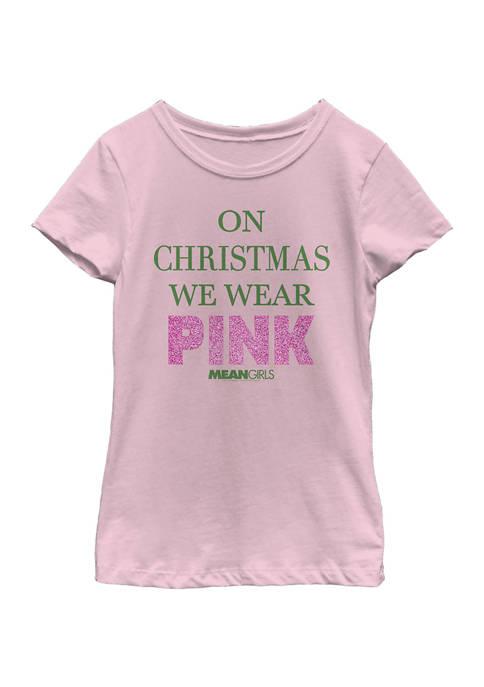 Girls 4-6x On Christmas T-shirt