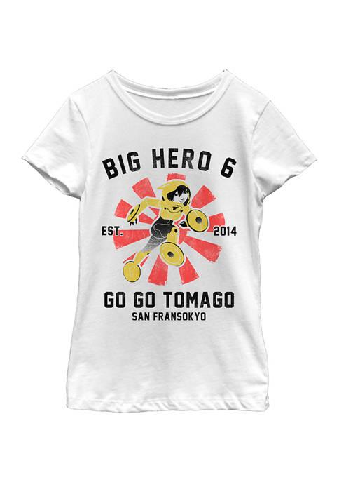 Big Hero 6 Girls 4-6x Go Go Collegiate