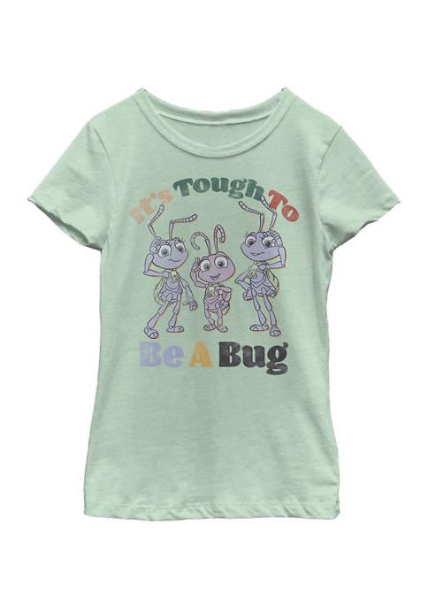 Disney® Girls 4-6x Big and Small Graphic T-Shirt