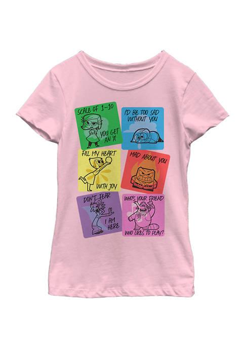 Disney® Girls 4-6x Vday Cards Graphic T-Shirt