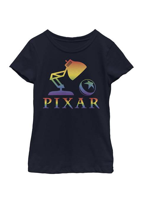 Girls 4-6x Pixar Logo Graphic T-Shirt