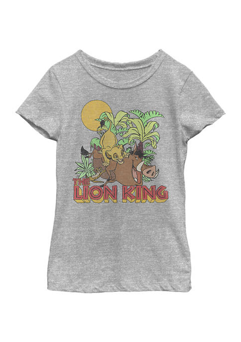 Disney® Girls 4-6x Jungle Play Graphic T-Shirt