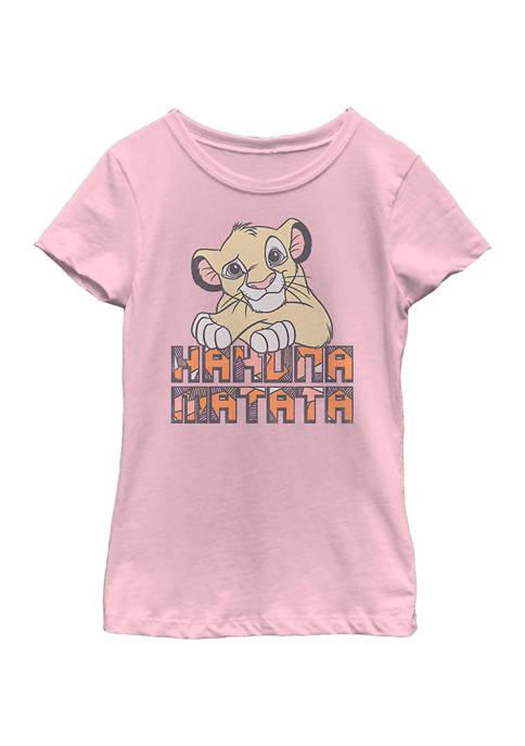 Disney® Girls 4-6x Hakuna Vintage Graphic T-Shirt