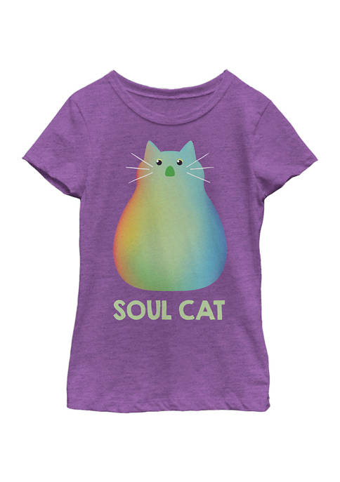 Girls 4-6x Soul Cat Graphic Top