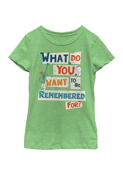 Soul Girls 4-6x Remember Jazz Graphic Top