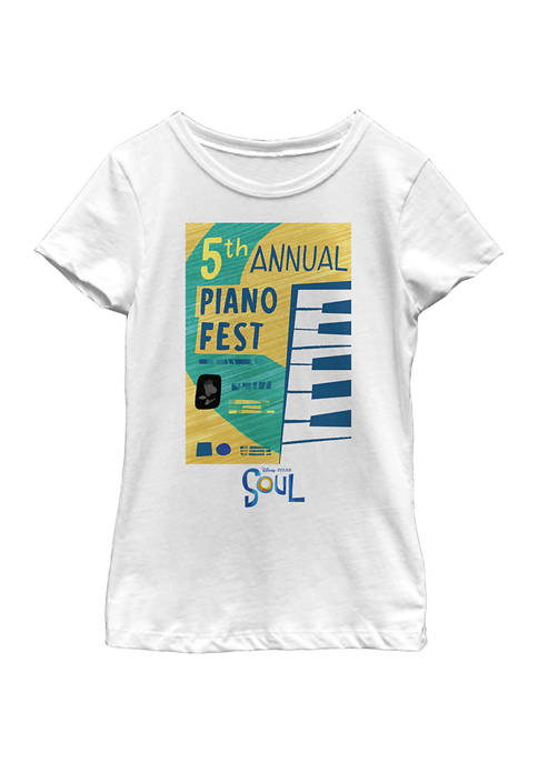 Girls 4-6x Piano Fest Graphic Top