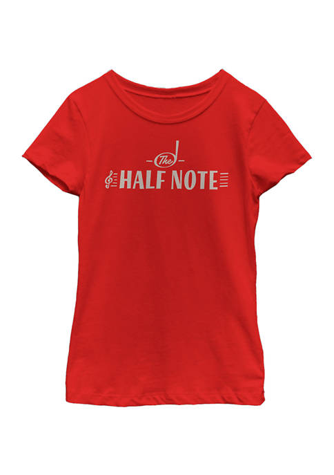 Soul Girls 4-6x The Half Note Graphic Top