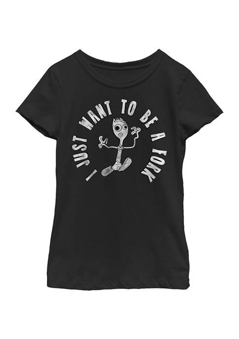 Girls 4-6x I Dont Belong Graphic T-Shirt