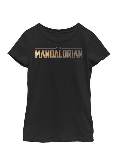 Star Wars® Girls 7-16 Mandalorian Title Fill Logo