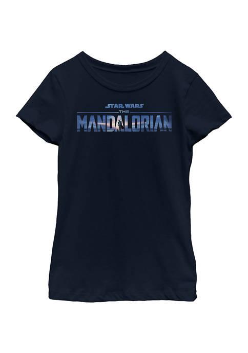 Girls 4-6x New Mando Logo Graphic T-Shirt