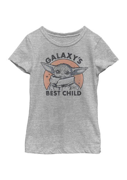 Girls 4-6x Galaxy Baby Top